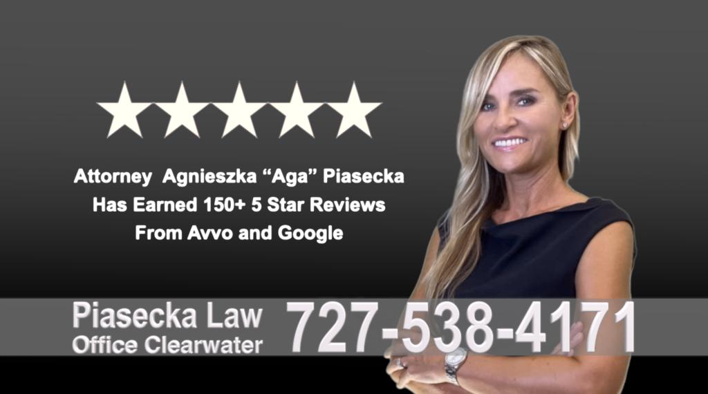 Immigration Attorney Clearwater Polish Agnieszka, Aga, Piasecka, Polish, Lawyer, Attorney, Opinie klientów, Best, Najlepszy, Polskojęzyczny, Prawnik, Polski, Adwokat, Florida, Floryda, USA 1