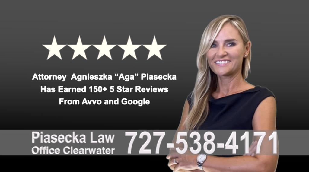 Immigration Attorney Clearwater Polish Agnieszka, Aga, Piasecka, Polish, Lawyer, Attorney, Opinie klientów, Best, Najlepszy, Polskojęzyczny, Prawnik, Polski, Adwokat, Florida, Floryda, USA