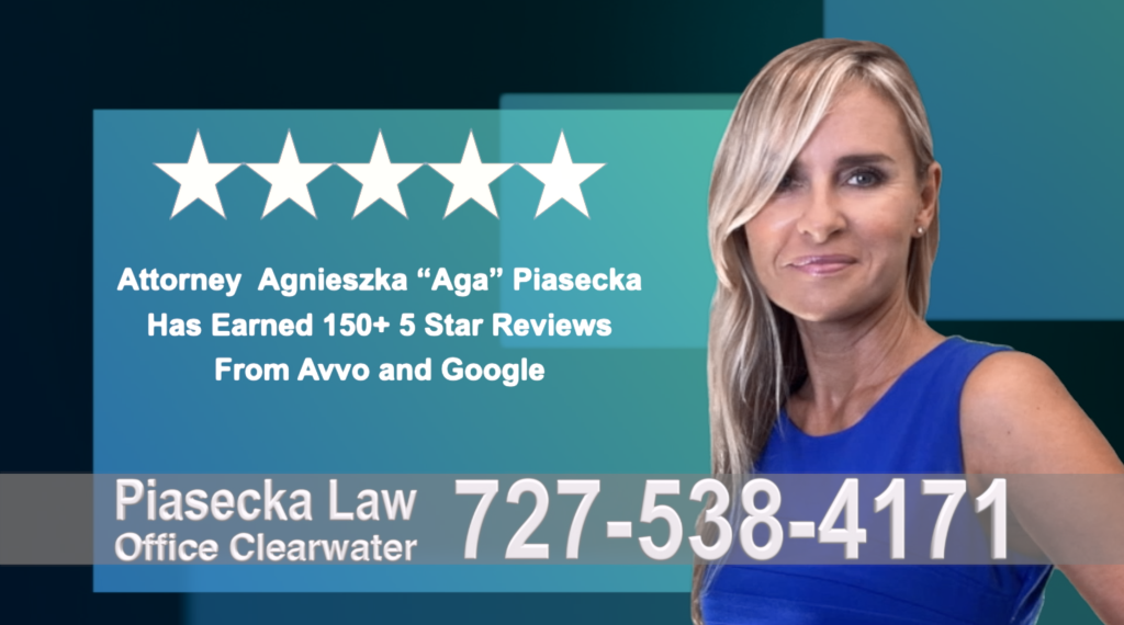 Immigration Attorney Clearwater Polish Agnieszka, Aga, Piasecka, Polish, Lawyer, Attorney, Opinie klientów, Best, Najlepszy, Polskojęzyczny, Prawnik, Polski, Adwokat, Florida, Floryda, USA 39