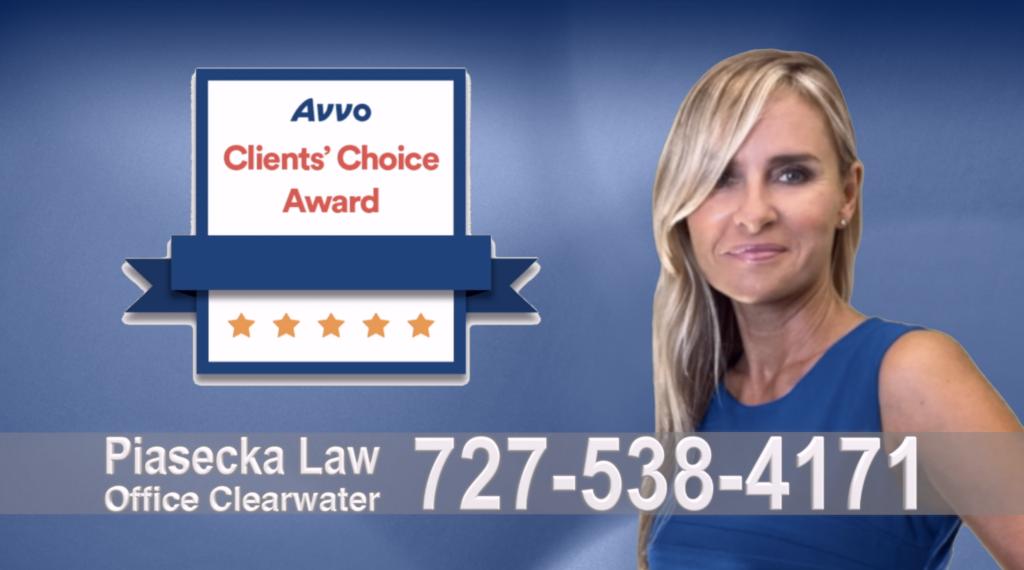Immigration Attorney Clearwater Polish Avvo, Clients, Choice Award, Reviews, Opinie, Agnieszka, Aga, Piasecka, Polish, Lawyer, Attorney, Opinie klientów, Best, Najlepszy, Polskojęzyczny, Prawnik, Polski, Adwokat, Florida, Floryda, USA 17